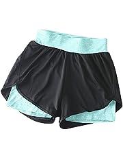 Vrouwen Hoge Taille Stretchy Yoga Kleur Elastische Sport Broek Shorts Fitness Zachte Ondoorzichtige Buikcontrole Workout Gym Leggings