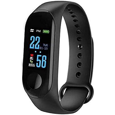CamKpell Unisex Health Tracker Smart Band Watch Bracelet Wristband Fitness Tracker Monitor Wristband Estimated Price -