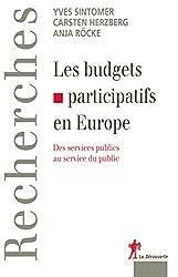Les budgets participatifs en Europe