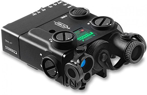 Steiner eOptics Civilian Dual Beam Aiming Laser DBAL-A3, IR Laser, Illuminator, Black