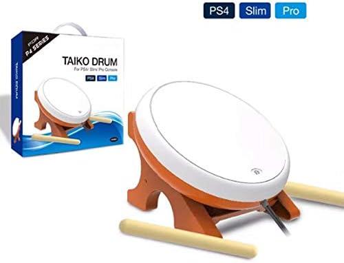 OSTENT Mini Taiko No Tatsujin Master Drum Controller Instrumento tradicional japonés para Sony PS4 Slim Pro: Amazon.es: Videojuegos