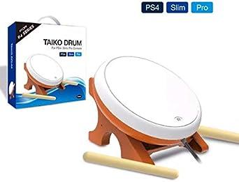 OSTENT Mini Taiko No Tatsujin Master Drum Controller Instrumento tradicional japonés para Sony PS4 Slim Pro