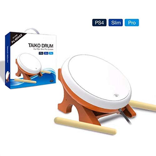 Price comparison product image OSTENT Mini Taiko No Tatsujin Master Drum Controller Japanese Traditional Instrument for Sony PS4 Slim Pro