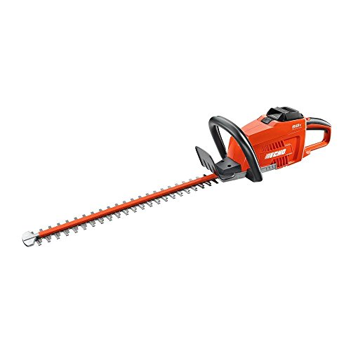 Echo 24 Inch 58-Volt Lithium-Ion Brushless Cordless Hedge Trimmer - 2.0 Ah Battery and Charger Included by Echo