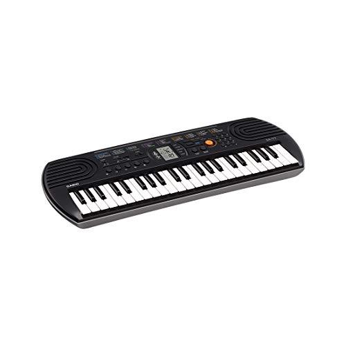 Casio SA-77 44 Mini Keys Keyboard, Black
