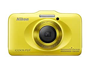 Nikon COOLPIX S31 10.1 MP Waterproof Digital Camera with 720p HD Video (Yellow) (OLD MODEL)