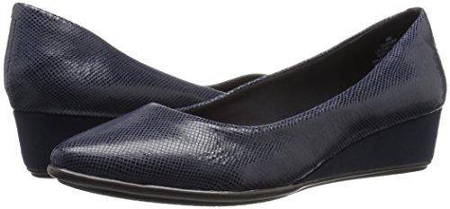 Easy Avery6 marino para Planos Puntiagudos Spirit Zapatos Reptile azul Mujer rrCfwqTn