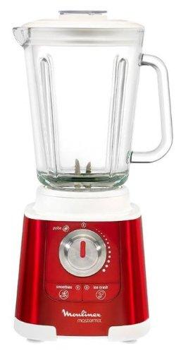 Moulinex Mastermix Red Rubi - Batidora de vaso, 850 W, vaso de cristal de 2 litros: Amazon.es: Hogar