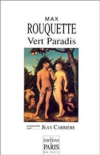 Vert paradis par Max Rouquette