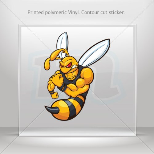 decal-stickers-bee-hornet-wasp-vespa-tablet-laptops-weatherproof-sport-5-x-371-inches