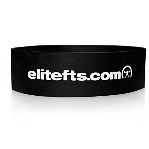 EliteFTS Pro Short Strong Resistance Band – Blue – 2.5″ Wide 12″ Long – SOLD AS A PAIR