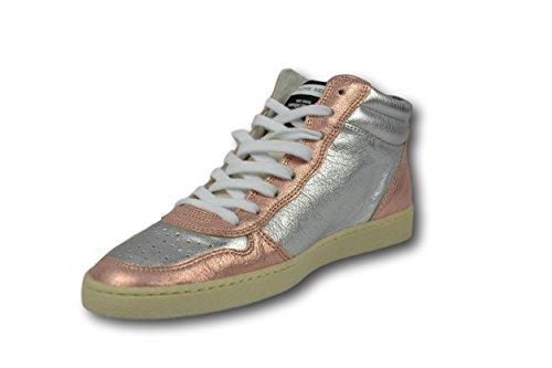 Sneaker Silver Alta 37 Rosa Woman Model Donna Shoes Tg 38 Scarpa Philippe apqtxERw8n