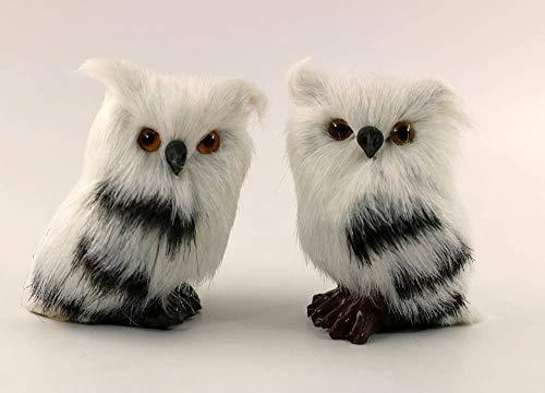 nanguawu 2pcs Little OWL Miniature Animal -