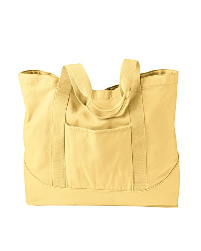 Pigment Tote On Authentic Snap GOLDENROD Large Pigment 1904 Canvas Authentic qpOUw6Ox