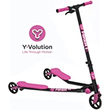 Yvolution Y Fliker Air Push Swing Scooter Winged Speeder Tri Wheel 3 Wheel Kick Scooter Carver Drifter for Boys / Girls / Children Kickboard - Multiple Colors