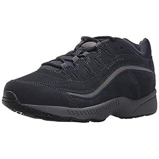 Easy Spirit Women's Romy Sneaker, Navy Suede 420, 8