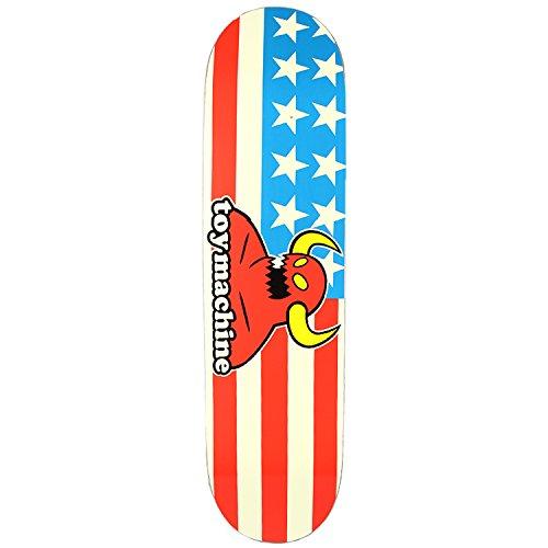 傾向があります乳製品やりがいのあるトイマシーン TOY MACHINE スケートボード デッキ AMERICAN MONSTER DECK 7.7インチ NO159