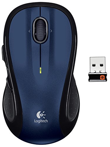 Logitech M510 Wireless Mouse (Blue)