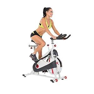 Sunny Health & Fitness SF B1509 Belt Drive Premium Indoor Cycling Bike
