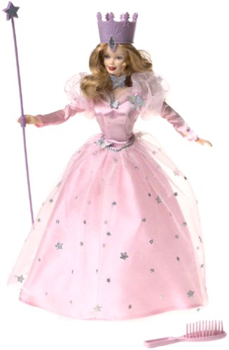 Barbie as Glinda in the Wizard of Oz]()