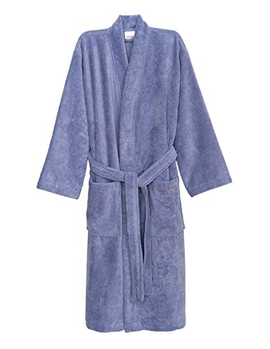 - TowelSelections Women's Robe, Fleece Cotton Terry-Lined Water Absorbent Bathrobe Large/X-Large Sweet Lavender