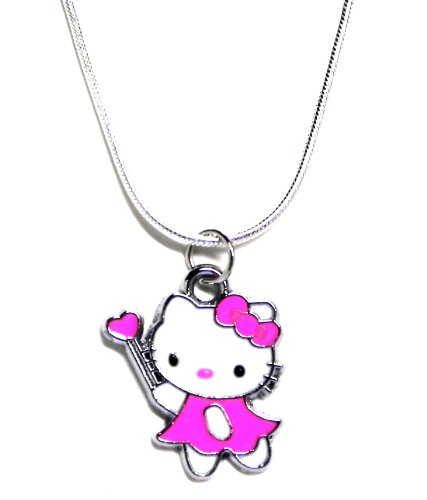PBarnettKittyJewelry Adorable Kitty Magic Wand Charm ()