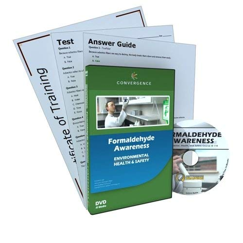 Convergence C-110 Formaldehyde Awareness Training Program DVD, 15 minutes Time