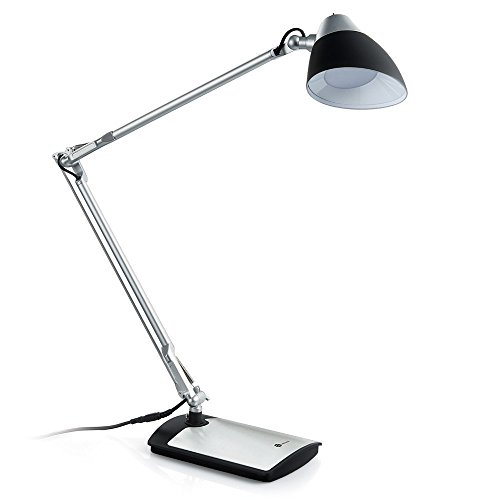 TaoTronics Metal Desk Lamp LED Flexible Arm, Rotatable Head,...