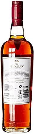 Macallan - Whisky escocés Ruby single malt