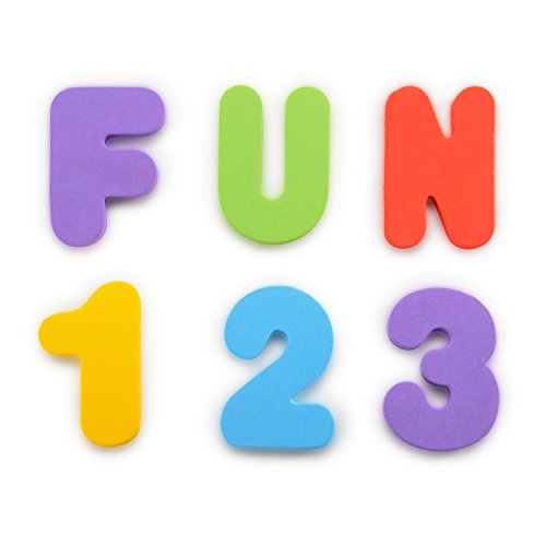 : Munchkin Letters and Numbers Bath Toys, 36 Count