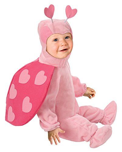 Love Bug Costume Baby (This Guy Costumes Baby Girls' Love Bug, Pink, 0-9 Months)
