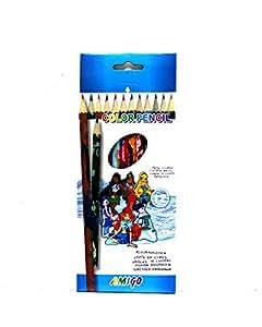 Amigo Color Pencil 12 pcs
