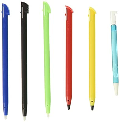 PDP Rainbow Stylus Pack - Nintendo 3DS