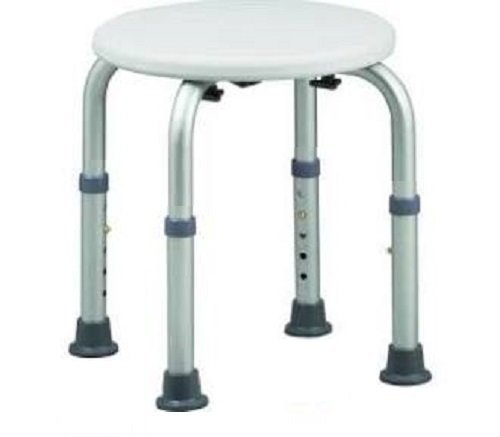 healthline-trading-round-stool-bath-bench-adjustable-height-lightweight-shower-with-non-slip-seat-wh
