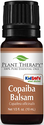 Plant Therapy Copaiba Balsam Essential Oil. 100% Pure, Undil