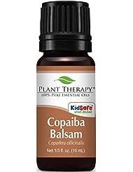 Plant Therapy Copaiba Balsam Essential Oil. 100% Pure, Undiluted, Therapeutic Grade. 10 ml (1/3 oz).