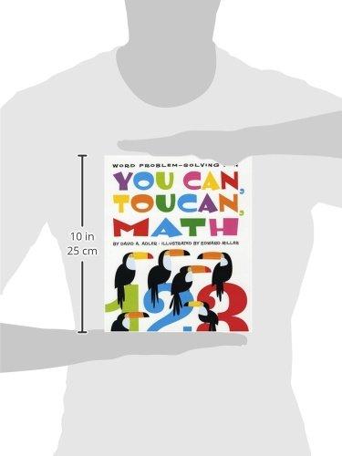 You Can, Toucan, Math: Word Problem-Solving Fun: David A. Adler ...