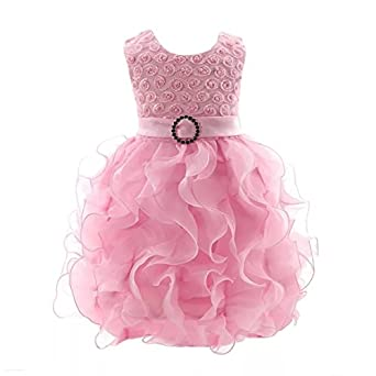 19eda43f4 A P Boutique Baby Girl Frock Party Dresses Birthday Outfits Dress Girls  Western Wear