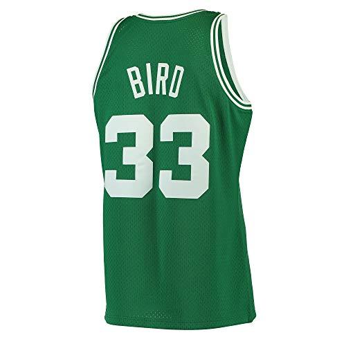 Green Swingman Basketball Jersey - Men's_Larry_Bird_Green_Hardwood_Classics_Swingman_Jersey