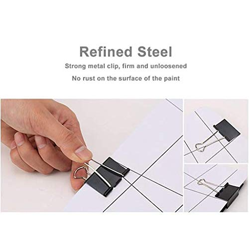 Small Binder Clips for Paper and Other Creative Uses - 3/4 Inch Photo #5