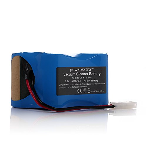 Powerextra 7.2V 3000Mah Shark XB1918 Battery for Shark Vacuum V1950 VX3 V1917 Cordless Sweeper