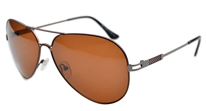 Eyekepper Gafas de Sol Polarizadas de Montura de Acero Inoxidable para Hombre y Mujer