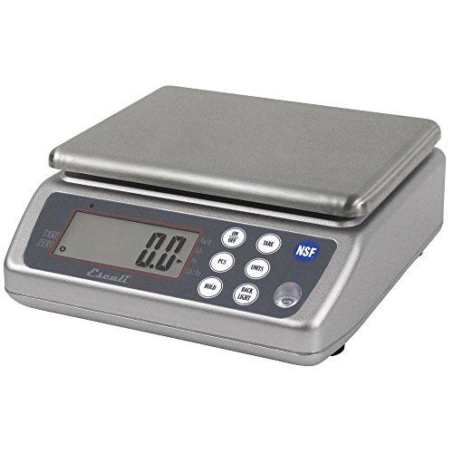 San Jamar SCDG33WD Digital Waterproof Food/Kitchen Scale wit