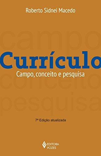 Currículo. Campo, Conceito e História