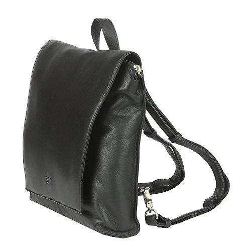VOI ZAINO 21514 soft-leder da donna neri : colore: Nero