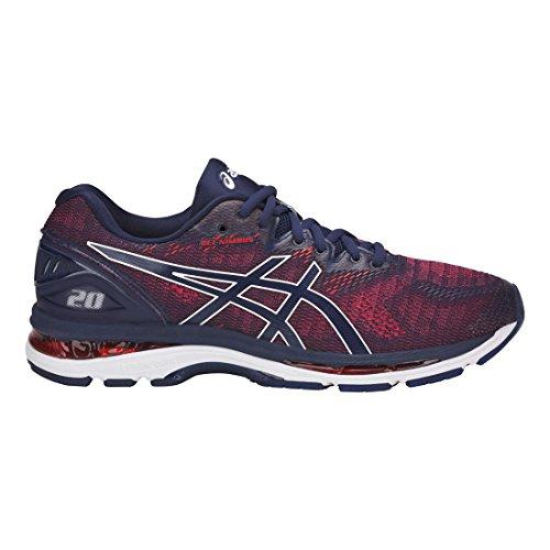 ASICS Mens Fitness/Cross-Training Trail Running Shoe, Indigo Blue/Indigo Blue/Fiery Red, 12.5 Medium US