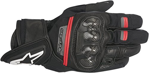 Alpinestars Men's Rage Drystar Glove (Black/Red, Large)