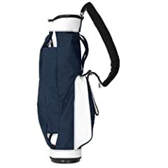 The Jones Original Carry Bag is equipped with the most comfortable non-slip single strap in golf. The Original Jones is so well balanced you will forget that you are carrying your clubs.