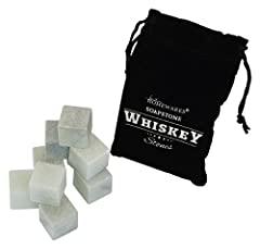 No longer dilute your favorite drink or spirit with taste altering ice, Southern Homwares has the solution for you! This set of whiskey stones is the perfect way to slightly chill your favorite beverage while retaining all the taste integrity...