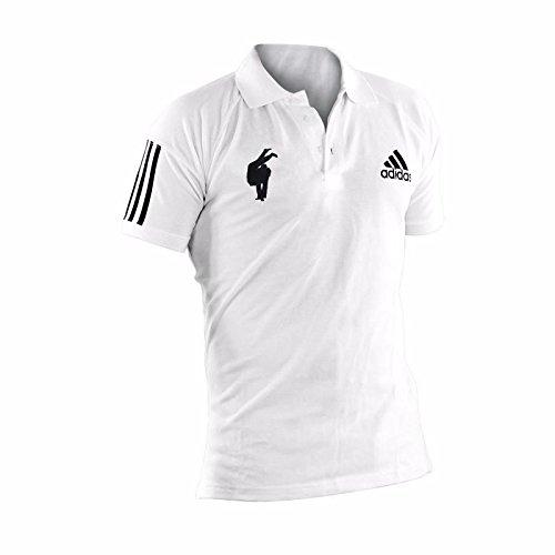 adidasADITS332 –Polo Judo, judo, color blanco, tamaño L